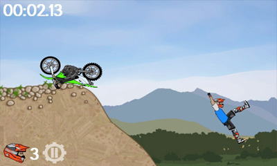 Arcade Moto X Mayhem für das Smartphone