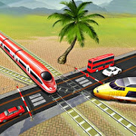 Euro train driving games icon