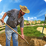 Farm life: Farming simulator. Real farmer 3D icono