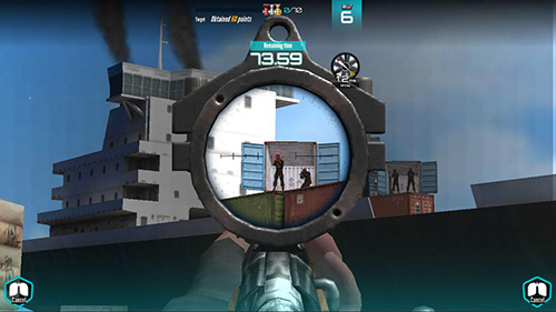 Military shooting king para Android