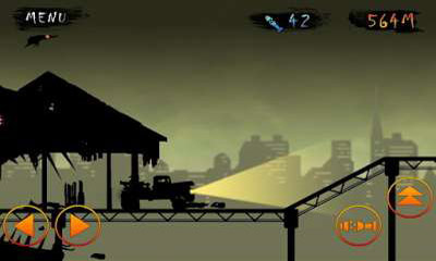 Arcade Zombie vs Truck für das Smartphone