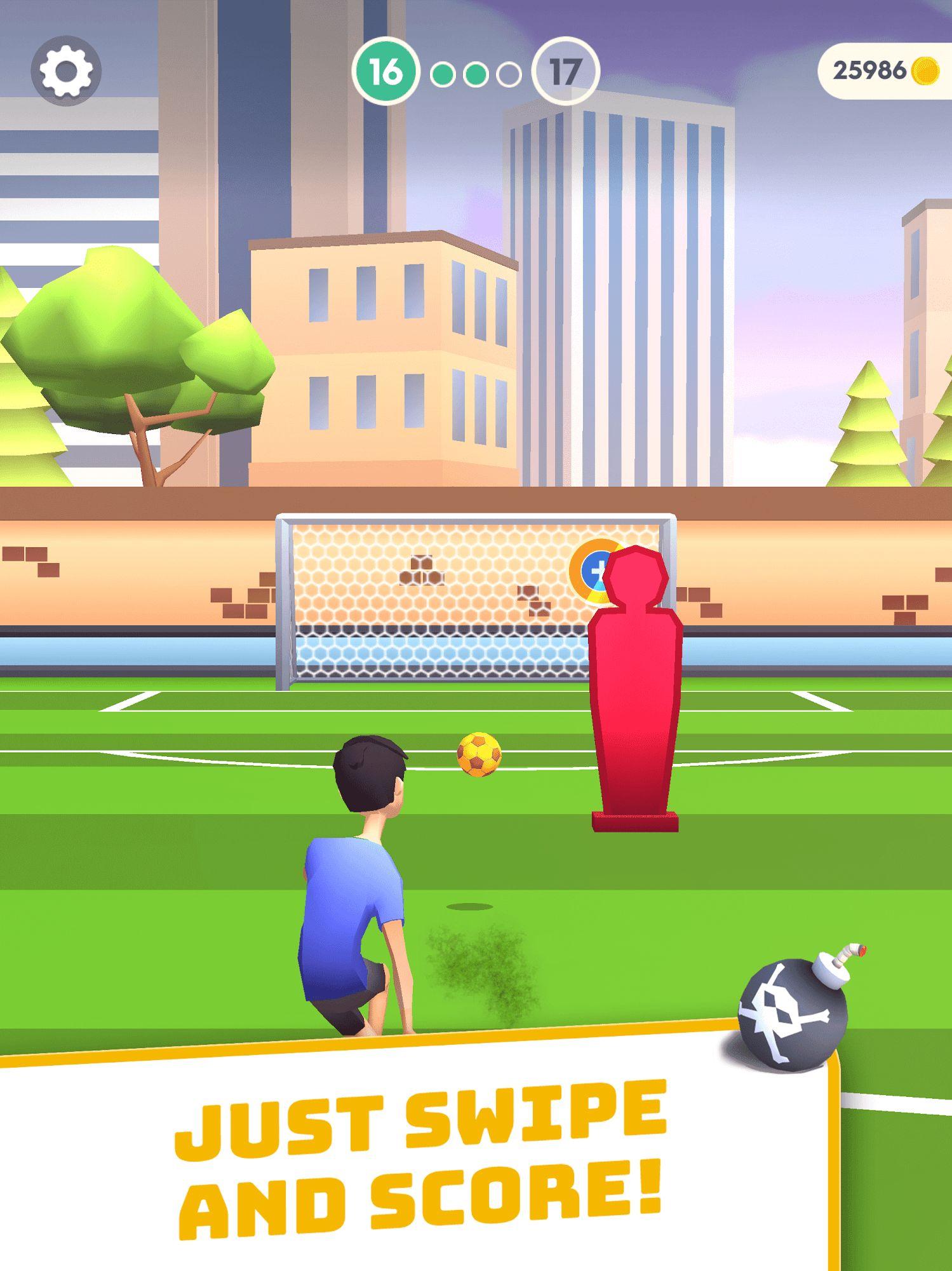 Flick Goal! capture d'écran 1