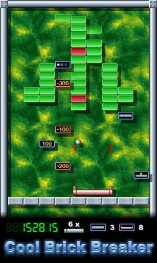 Arcade Cool brick breaker für das Smartphone
