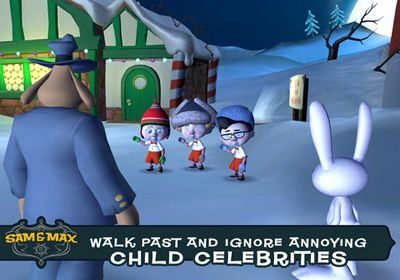 Sam & Max Beyond Time and Space. Episode 1.  Ice Station Santa for iPhone for free