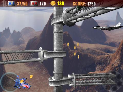 Juegos de arcade: descarga La guerra de aviones a tu teléfono