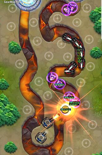 Tower defense: Galaxy 5 für Android