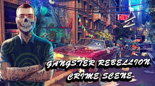 Hidden objects: Gangster rebellion. Crime scene Screenshot