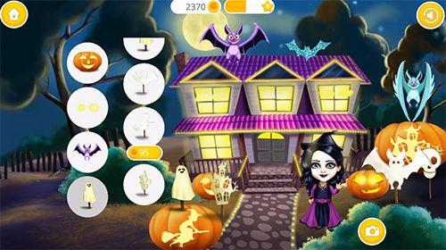 Screenshot Sweet baby girl: Halloween fun on iPhone