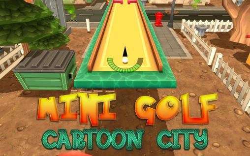Mini golf: Cartoon city icône