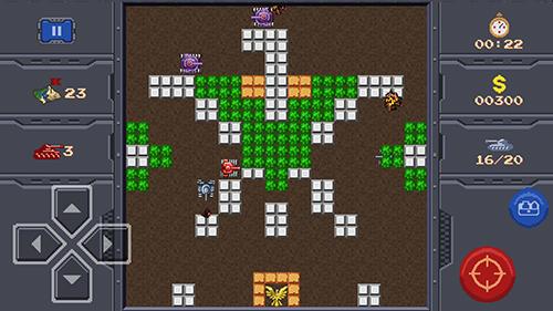Pixel art Tank 1990 in English