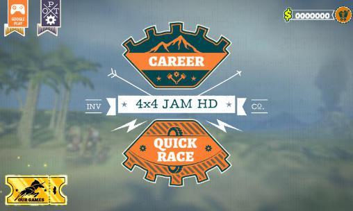 Rennspiele 4x4 jam HD für das Smartphone