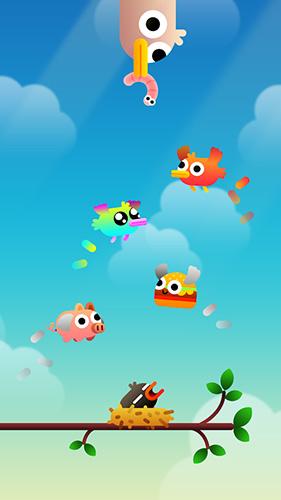 Arcade-Spiele Birdy trip für das Smartphone