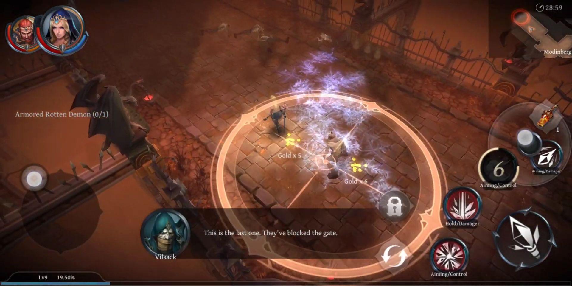Raziel: Dungeon Arena скріншот 1