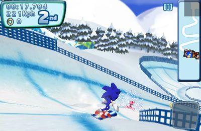 Sonic bei den olympischen Winterspielen für iPhone