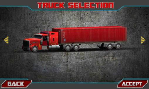 Simulation Truck driver 3D: Simulator für das Smartphone