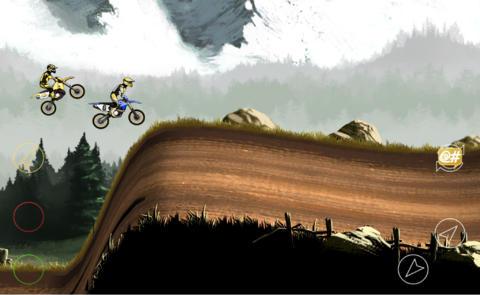 Rennspiele: Lade Verrückte Skills: Motocross 2 auf dein Handy herunter