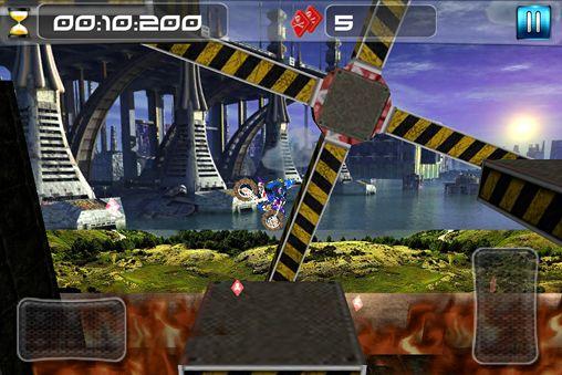Captura de pantalla Moto cross imposible en iPhone