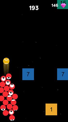 Arcade Ballz rush für das Smartphone