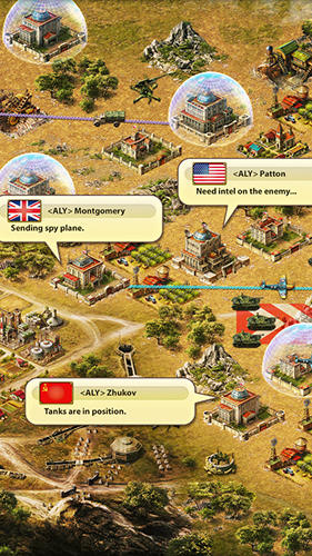 Online World at war: WW2 Days of fire für das Smartphone
