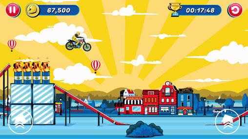 Arcade Evel Knievel für das Smartphone
