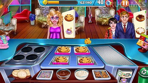 Cooking story crazy kitchen chef restaurant games für Android