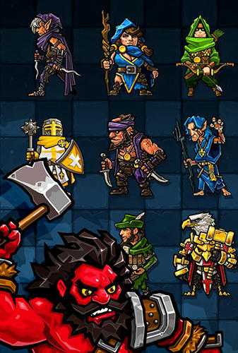 Match hero: Legendary puzzle RPG para Android