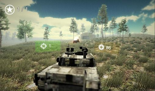 Tank world alpha captura de pantalla 1