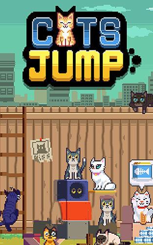 Cats jump! Symbol