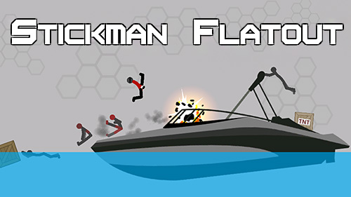 Stickman flatout epic Screenshot