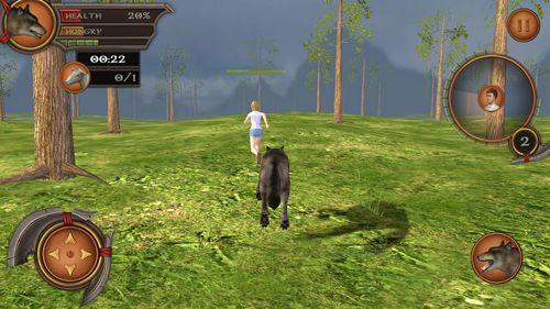 Simulation: Lade Wolf Simulator 2 Pro auf dein Handy herunter