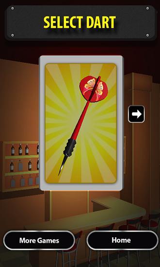 Arcade-Spiele Darts 2015 für das Smartphone