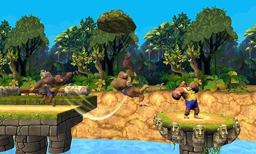 Arcade Monkey stunt run für das Smartphone