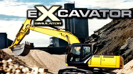 Crazy excavator simulator icon