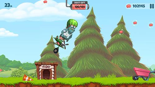 Zombie's got a pogo Screenshot
