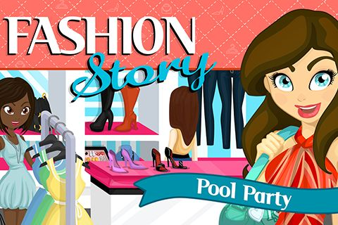 Fashion story: Pool party screenshot 1