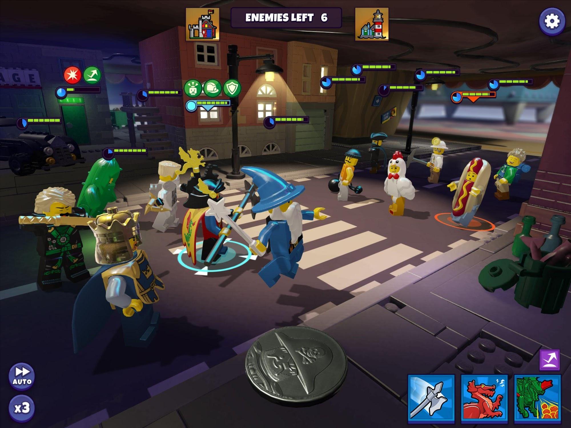 LEGO® Legacy: Heroes Unboxed screenshot 1