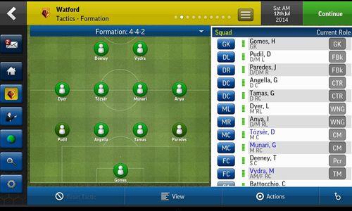 Fußball Manager 2015 für iPhone