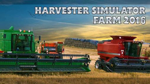 Harvester simulator: Farm 2016 captura de pantalla 1