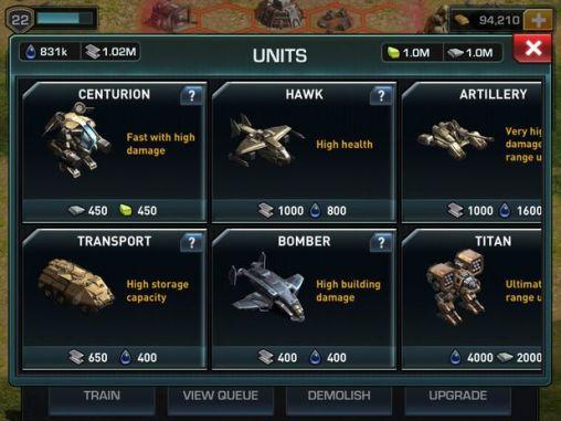 War of nations screenshot 4