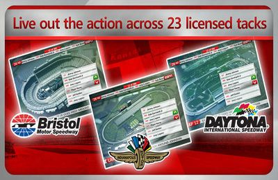Captura de tela NASCAR: A Linha Vermelha no iPhone