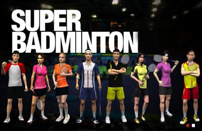 Captura de pantalla Super Badminton en iPhone