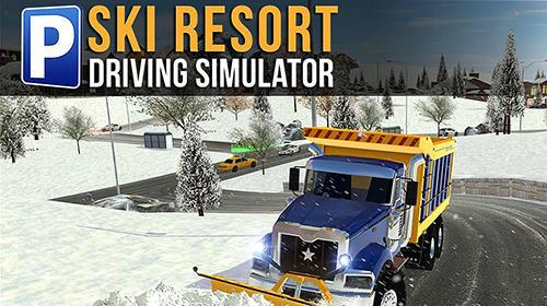 Ski resort: Driving simulator capture d'écran 1
