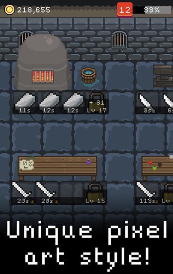 RPG Pixel blacksmith für das Smartphone
