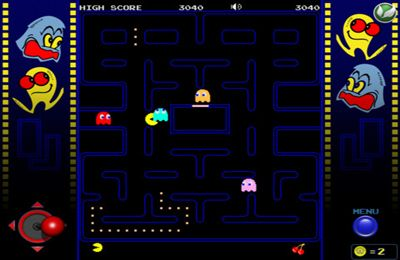 Screenshot Pac-Man auf dem iPhone
