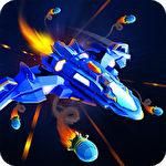 Strike fighters squad: Galaxy atack space shooter icono
