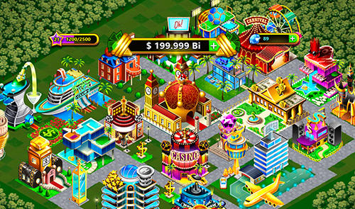 Strategie Fantasy Las Vegas: City-building game für das Smartphone