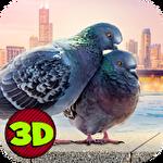 Flying bird pigeon simulator 2 ícone