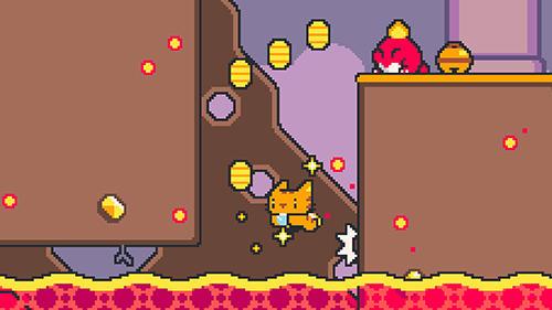 Arcade Super cat bros für das Smartphone