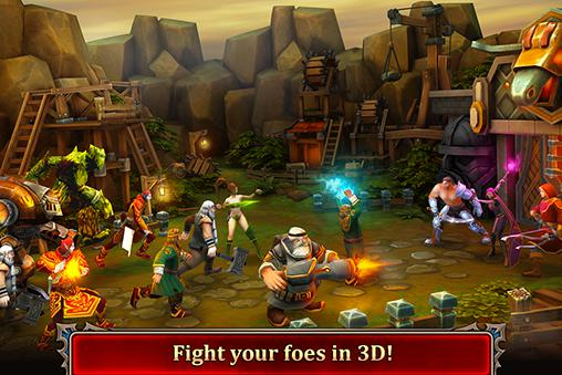 Dragon warlords für Android