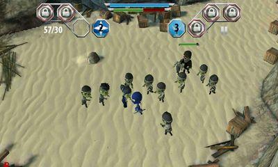 Ninja Finger Ninjas Zombie Strike-Force auf Deutsch